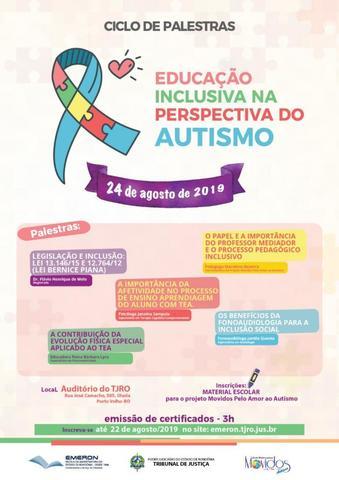Magistrado de Porto Velho abordará sobre os avanços na legislação que ampara os autistas - Gente de Opinião