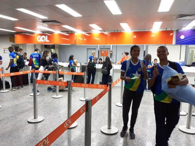 Atletas de Rondônia participam do Brasileiro Escolar de Vôlei de Praia, na Paraíba - Gente de Opinião