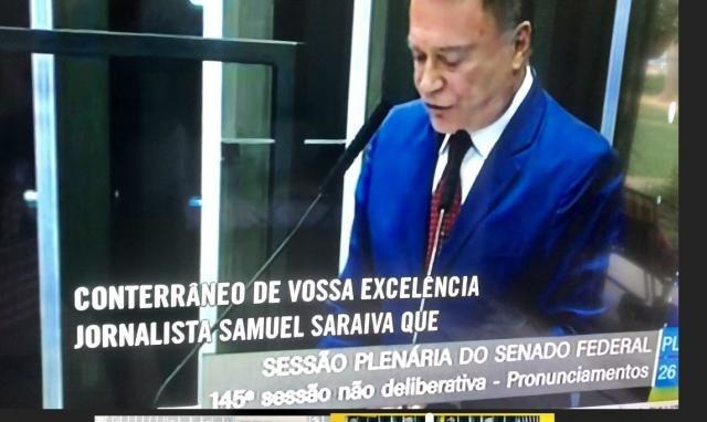 Senador Álvaro Dias (Líder do Podemos) destaca propostas de Samuel Saraiva sobre Meio Ambiente - Gente de Opinião