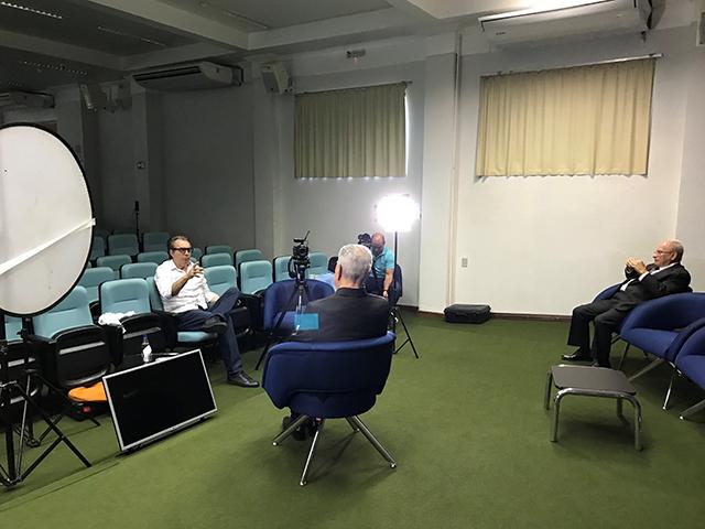 Iniciadas as gravações para o Museu da imagem e do Som do Cremero - Gente de Opinião