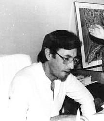 Chiquilito Erse no gabinete da prefeitura em 1989 - Gente de Opinião