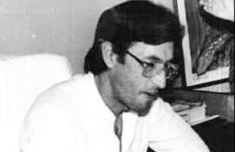 Chiquilito Erse no gabinete da prefeitura em 1989
