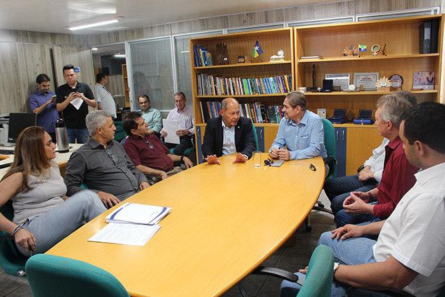 Sistema Fecomércio recebe visita do Deputado Federal Coronel Chrisóstomo - Gente de Opinião