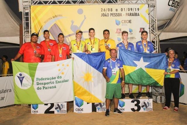 Rondônia conquista ouro e bronze no 5º Brasileiro Escolar de Vôlei de Praia da CBDE - Gente de Opinião