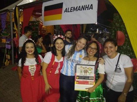 Festas Às Nações acontece no Porto Velho shopping