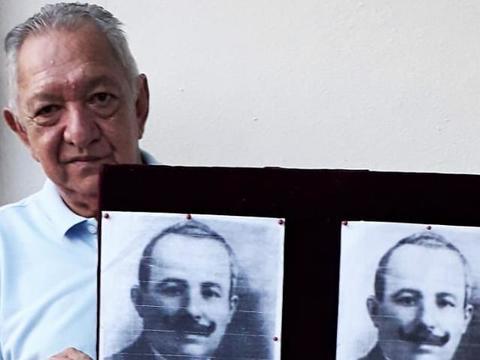 Hokney França, grande pesquisador e detentor do maior acervo da História de Rondônia