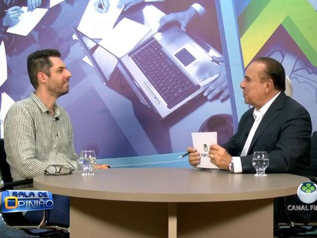 Dr. Aparício Carvalho conversou com o professor da disciplina de Felicidade e Interiores José Ocanha - Gente de Opinião