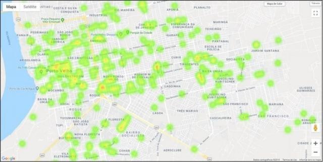 Maioria dos acidentes acontece durante o dia e na região central de Porto Velho - Gente de Opinião