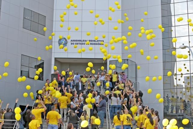 """Assembleia Legislativa apoia o """"Setembro Amarelo"""", campanha de prevenção ao suicídio  - Gente de Opinião"""