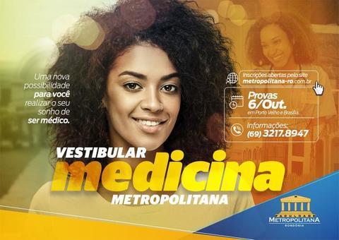Inscrições para o vestibular de Medicina da Faculdade Metropolitana já estão abertas