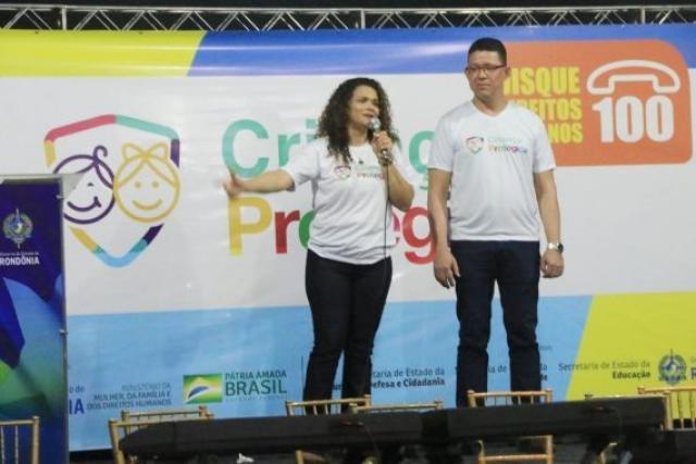 Primeira-dama e secretária da Seas, Luana Rocha, destaca ao lado governador Marcos Rocha trabalho conjunto de fortalecimento da rede proteção a crianças e adolescentes em Rondônia - Gente de Opinião