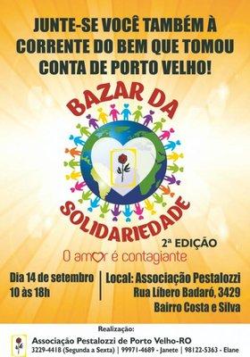 Sistema Fecomércio convida empresários e população em geral para participar da 2° Edição do Bazar da Solidariedade