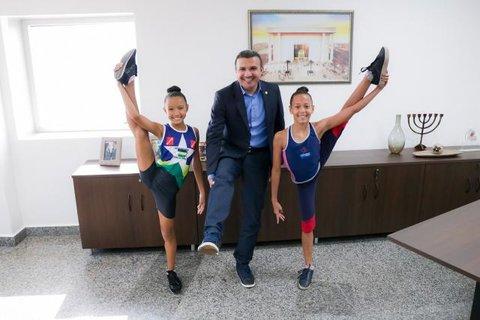Apoio do deputado Alex Silva garante ginastas mirins no Campeonato Nacional de Ginástica Rítmica