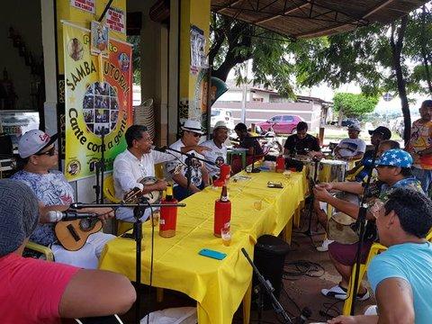 Projeto Samba Autoral no  Bar Calixto neste sábado + Adeus ao Senador Odacir Soares