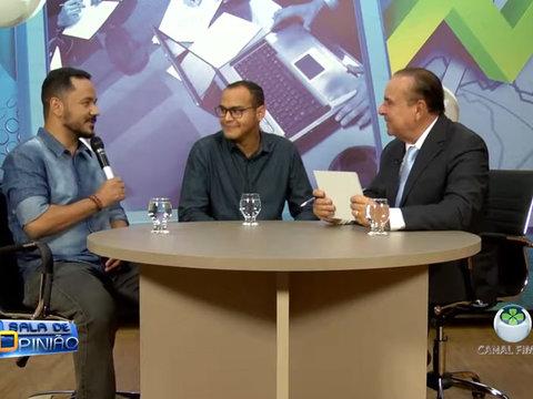 Nesse programa o Dr. Aparício Carvalho conversou com o coordenador do curso de fisioterapia Reinaldo dos Anjos e o professor do curso de Farmácia Denny Ramos.