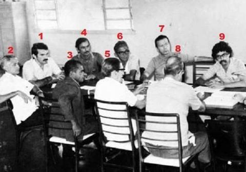 Primeira legislatura da Câmara de Vereadores da capital, eleitos em novembro de 1969