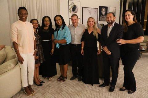 Prefeito Hildon Chaves recebe visita da embaixadora de Barbados no Brasil