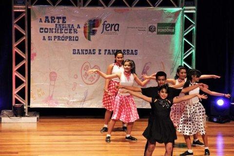 Festival Estudantil Rondoniense de Artes inicia fase estadual nesta quinta-feira