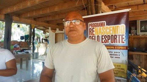 Professor Jaime Lopes, da escola Mário Covas, fala da luta e do sucesso de se promover o esporte na Vila Samuel em Candeias do Jamari