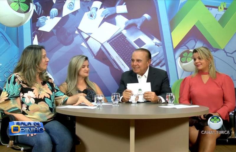 Dr. Aparício Carvalho, entrevista as professoras do curso de pedagogia da Faculdade Metropolitana: Jane Lúcia, Claudia Lobo e a professora de letras Ludmila Navarrete