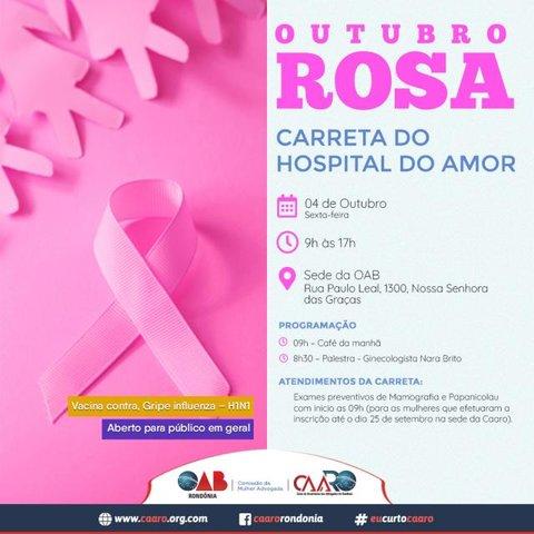 Carreta do Hospital do Câncer oferece atendimentos na OAB em Porto Velho - Gente de Opinião