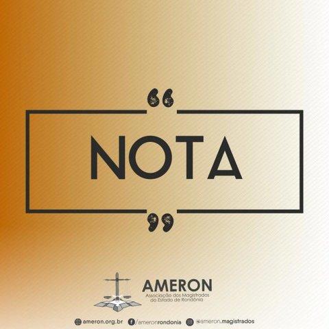 Nota Pública de Repúdio da Ameron contra a derrubada do veto Presidencial à Lei do Abuso de Autoridade - Gente de Opinião