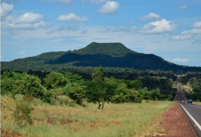 Morro do Diabo, no município paulista de Teodoro Sampaio, região do Pontal do Paranapanema - Gente de Opinião