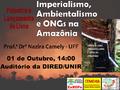 Pesquisadora do Rio de Janeiro faz palestra e Lança livro na UNIR sobre ONGs na Amazônia