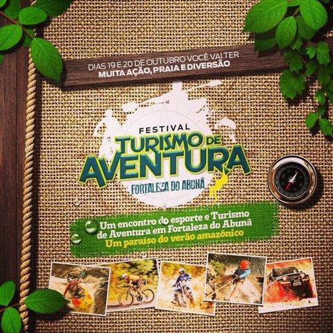 Festival de Turismo de Aventura terá Tirolesa de 140 metros - Gente de Opinião