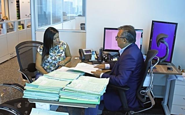 O Procurador do Estado, Nilton Djalma dos Santos Silva orienta os novos estagiários da PGE - Gente de Opinião