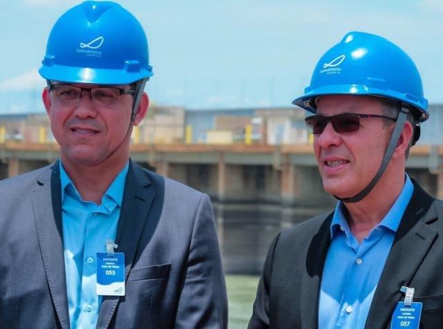 Ministro de Minas e Energia visita Hidrelétrica Santo Antônio - Gente de Opinião