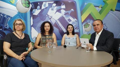 Dr. Aparício Carvalho entrevista três Psicólogas, Professoras do Centro Educacional Aparício Carvalho (FIMCA)