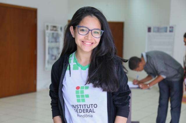 Thaynara Melo - Estudante de Eletrotécnica do IFRO - Gente de Opinião