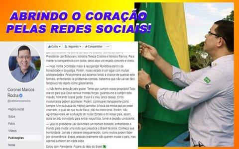 """Marcos Rocha desabafa, critica conta de energia e ameaça corruptos com """"voadora no pescoço"""""""