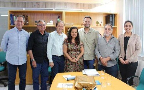 Ações do Sistema Fecomércio/Sesc/Senac são apresentadas ao Deputado Federal Léo Moraes