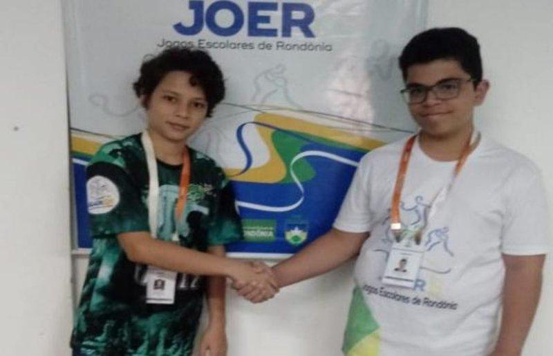 Atleta mirim emociona a todos com atitude ética e solidária na Etapa Individual do Joer em Ji-Paraná