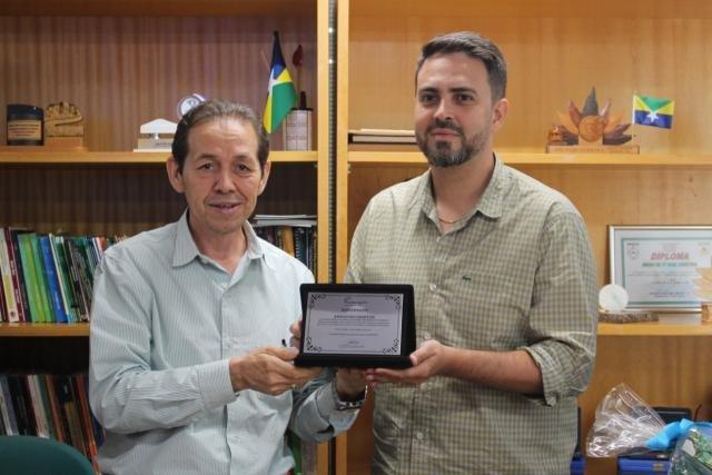 Ações do Sistema Fecomércio/Sesc/Senac são apresentadas ao Deputado Federal Léo Moraes - Gente de Opinião