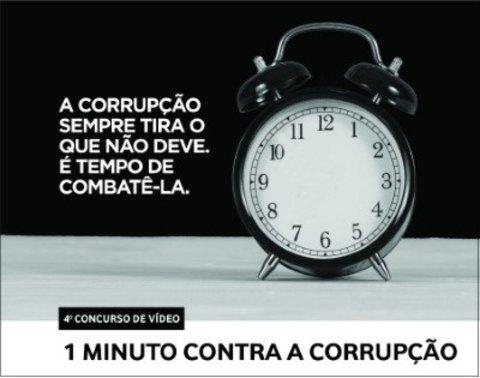 IV edição do Concurso de Vídeo 1 Minuto Contra a Corrupção