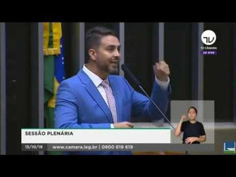 Deputado Federal Léo Moraes defende Sistema Fecomércio, Sesc e Senac no Plenário da Câmara