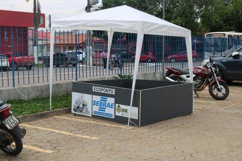 Ecoponto para uso público
