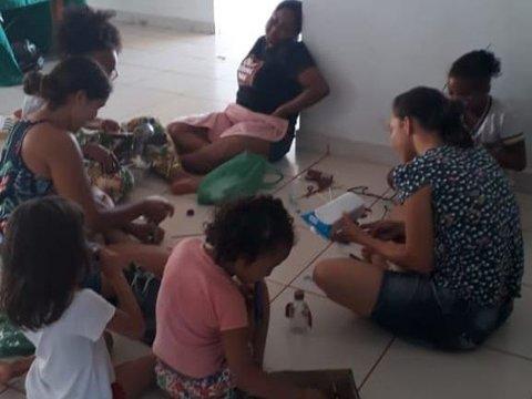 Instituições realizam atividades na Casa da Criança em Rolim de Moura