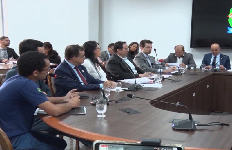Representantes do IPEM, SEFIN, CAERD são ouvidos pela CPI da Energisa em sessão na ALE/RO