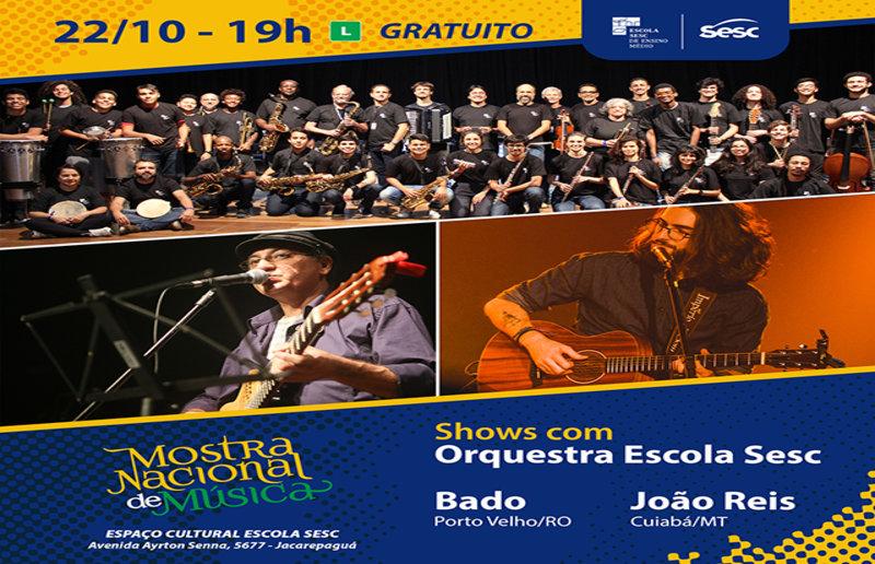 Bado representa Rondônia na III Mostra Nacional de Música Sesc no Rio de Janeiro