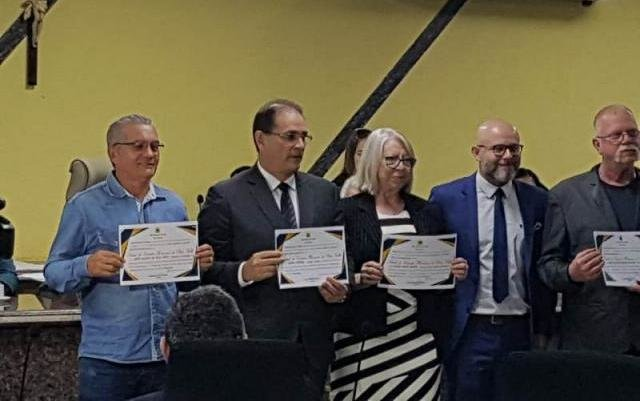 Vereador Aleks Palitot entrega título de cidadão honorário para Daniel Pereira - Gente de Opinião