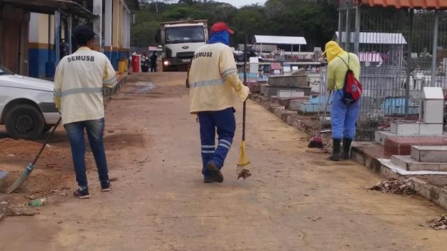 Prefeitura de Porto Velho cadastra ambulantes e conclui limpeza dos cemitérios - Gente de Opinião
