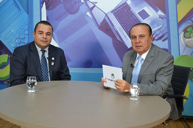 Dr. Aparício Carvalho entrevista o Professor do curso de Direito da FIMCA e Procurador do estado de Rondônia, Pedro Henrique Moreira - Gente de Opinião