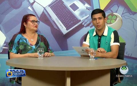 João Ricardo conversa com a Dra. Conceição Simões, Ginecologista.