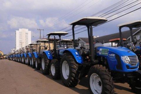 Governo de Rondônia reforça o setor produtivo com a entrega de mais 321 máquinas e equipamentos agrícolas aos municípios