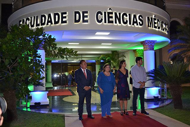 Inauguração do prédio de Ciências Médicas da FIMCA.  - Gente de Opinião