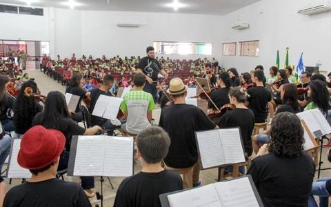 Cultura em Vilhena: Fundação inicia Bolsa Orquestra com R$ 120 mil de investimento